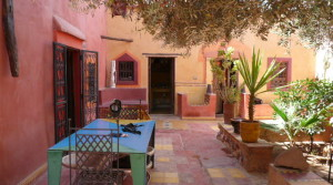 Traditional Berber house, located 18km from Marrakesh.