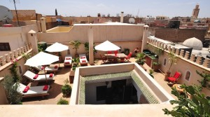 4 bedrooms riad, plunge pool, hammam, high standard!