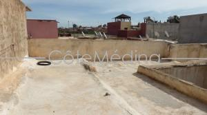 Traditional house to restore. Titled. Ideally located near the Royal Palace and the Hotel Mamounia.
