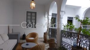 Traditional riad, offering large rooms. Ideally located in quiet area close to all points of interest!