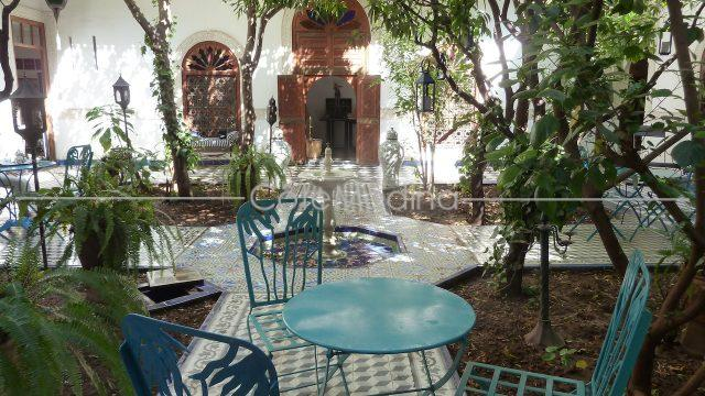 renovated riad for sale large patio and garden
