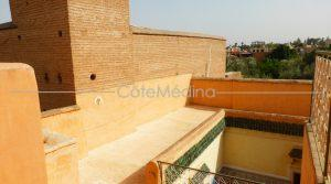 Riad to renovate. Very good state. Spacious. Magnificent terrace!