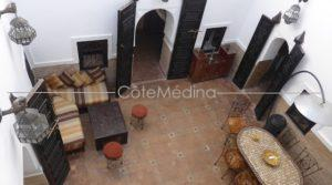 4 bedrooms riad, direct access by car and car park at the door…