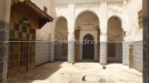 Rare in Mouassine. Riad 18th century, to be renovated
