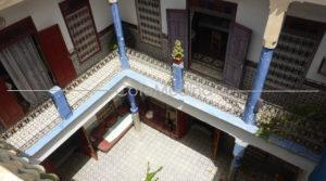 Riad to renovate, large patio of 50m2, 4 bedrooms