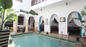 Boutique Hôtel, with pool, 4 bedrooms, 5 mnts walk from Jemâa el Fna