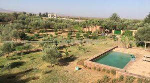 Ecolodge at the foot of the Atlas 30 minutes from Marrakech