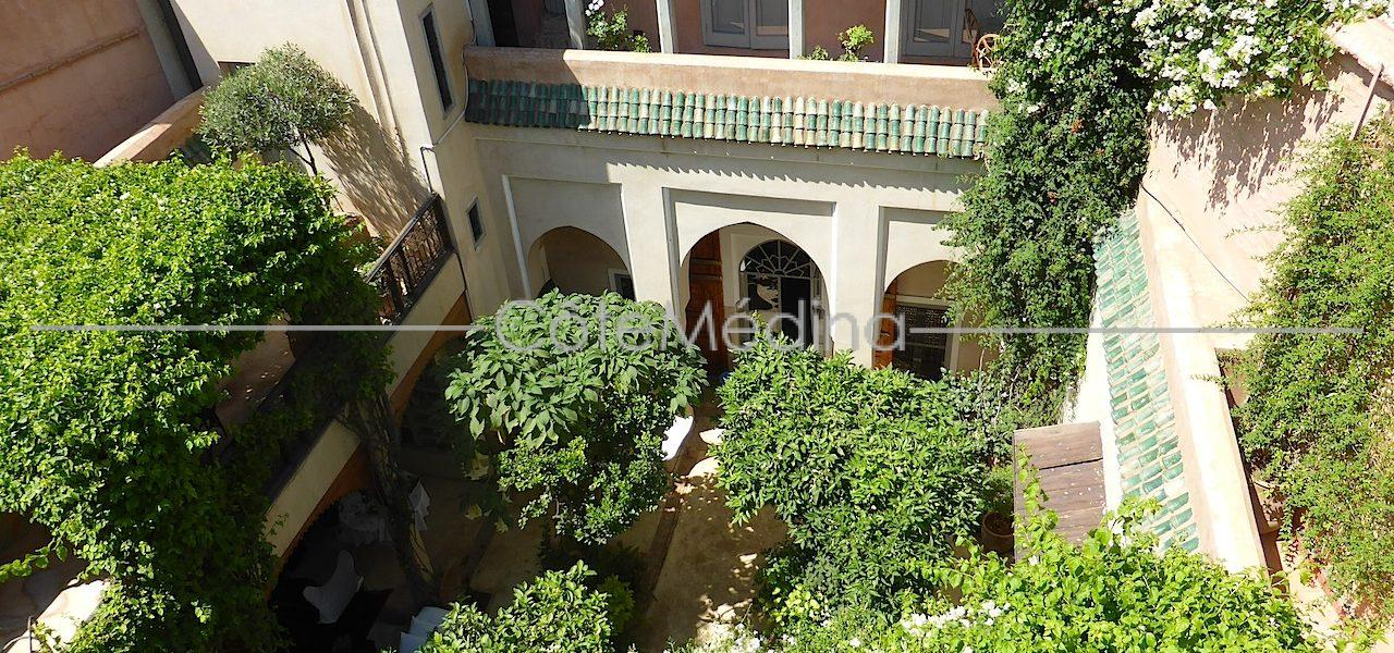 Authentic riad with garden-patio, bright, wide rooms …