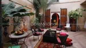 Charming traditional riad, nice bright patio, amazing view from the terrace