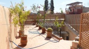Traditional house of the medina of Marrakesh, 3 bedrooms
