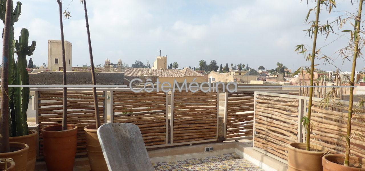RARE! Artfull living!  Riad with exceptional terrace
