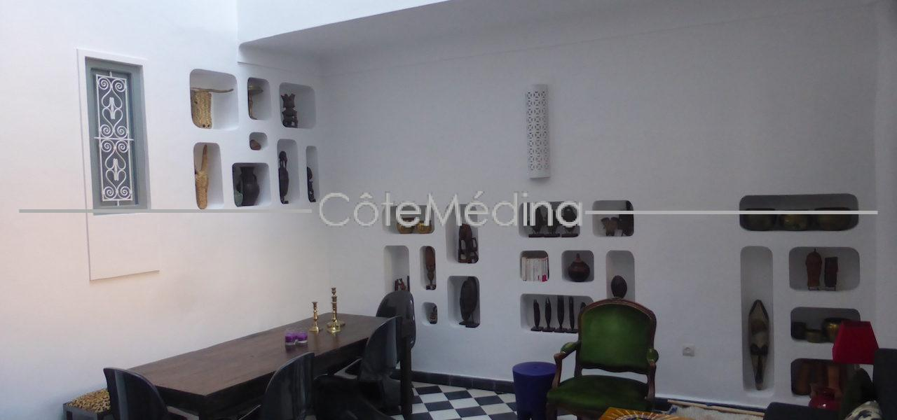 Charming Riad 3 bedrooms, just renovated – Ideal for rental yield.