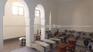 Apartment + large sunny terrace – view onto Bahia Palace
